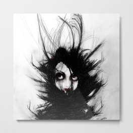Coiling and Wrestling. Dreaming of You Metal Print