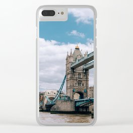 London's Tower Bridge Clear iPhone Case
