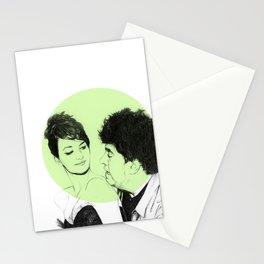 Pedro Almodovar and Penelope Cruz Stationery Cards