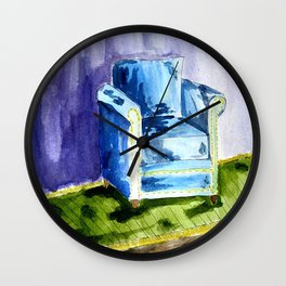 Sad Chair Wall Clock