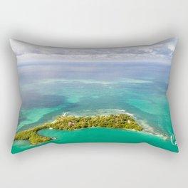 Caribbean View Rectangular Pillow