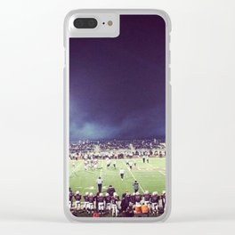 Friday Night Lights Clear iPhone Case