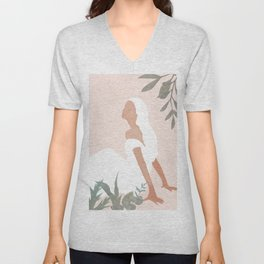 Clarity in Nature Unisex V-Neck