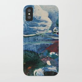 Mini World Environmental Blues 2 iPhone Case
