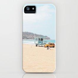Redondo Beach // California Ocean Vibes Lifeguard Hut Surfing Sandy Beaches Summer Tanning iPhone Case