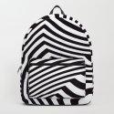 Black and White Pop Art Optical Illusion by lebensartdesign