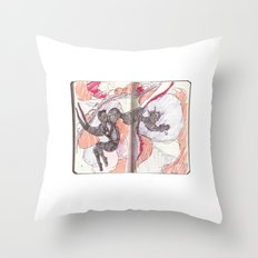 what if you can't sleep Throw Pillow