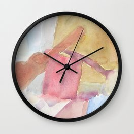 Instrumental Shapes and Cloth Wall Clock