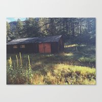 cabin Canvas Prints featuring Cabin by John Timmons