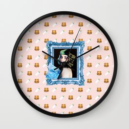 sippy cup Wall Clock