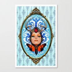 Cicada queen Canvas Print