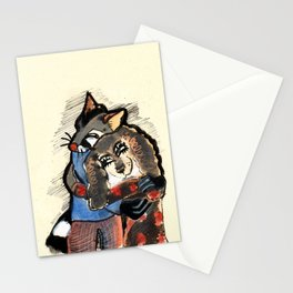 Love: We are lovers Stationery Cards