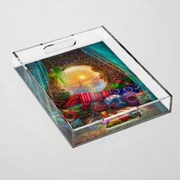 Oasis Acrylic Tray