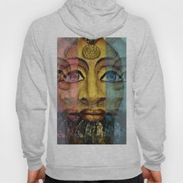 Urban Exotic Egyptian in a Seamless Pattern Hoody