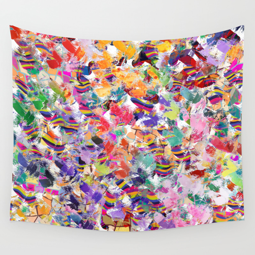 Broken Cups Wall Tapestry by Lalachandra TPS8601741