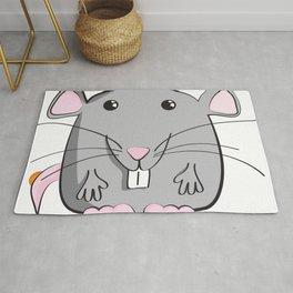 Cartoon Cute Mouse Rug