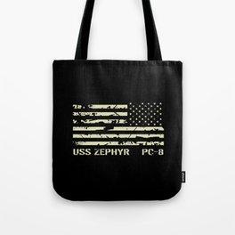 USS Zephyr Tote Bag