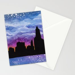 City of Stars Stationery Cards