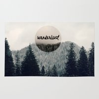 wanderlust Area & Throw Rugs featuring Wanderlust by RDelean