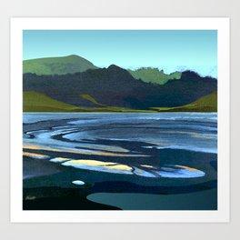 Low Tide, Late Evening Art Print