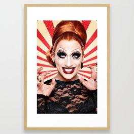 BDR Not Today Satan Framed Art Print
