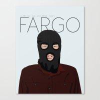 fargo Canvas Prints featuring Fargo by JayHerron