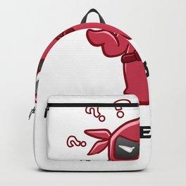 helpless ninja Backpack