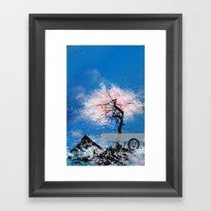 ...cherryblossoms... Framed Art Print
