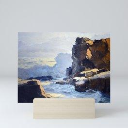 Frederick Judd Waugh, Rocky Coastline Mini Art Print