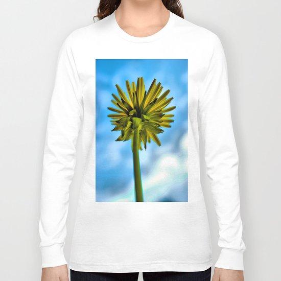 Dandelion Skies Long Sleeve T-shirt