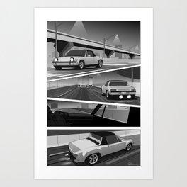Midnight 914 Art Print
