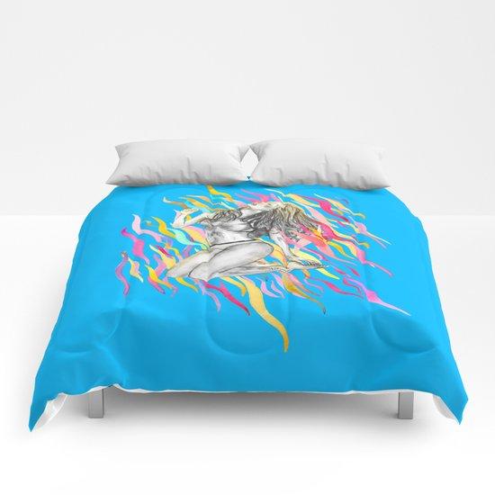 Ibiza Summer Flame Comforters