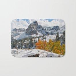 Sundial Mountain Peak Bath Mat