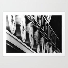 Tourneau Art Print