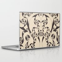 skyrim Laptop & iPad Skins featuring Celtic Loops Natural by Astrablink7