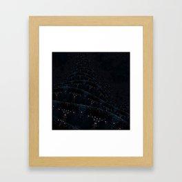 Construction Layers Framed Art Print