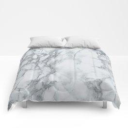 Gray Blue Granite Comforters