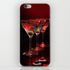 Red hot martinis. iPhone & iPod Skin
