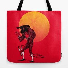 Matador's Dilemma Tote Bag