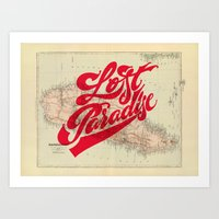 Lost Paradise Art Print