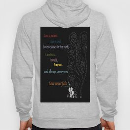 Love Never Fails Hoody