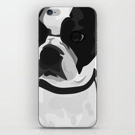Tucker the Boston Terrier iPhone Skin