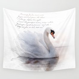 The Swan Princess Wall Tapestry