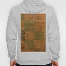Map Of Atlanta 1850 Hoody