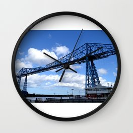 Middlesbrough Transporter Bridge Wall Clock