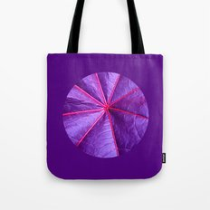purple leaf macro XIV Tote Bag