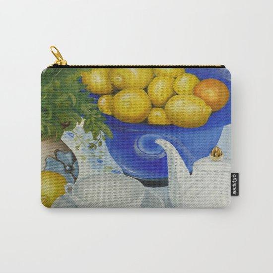 Lemon Tea Carry-All Pouch