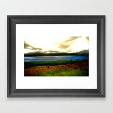 Ominous ! Framed Art Print