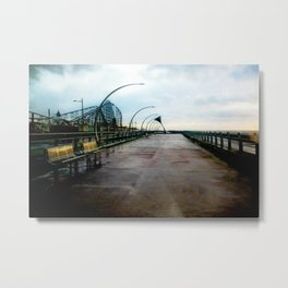 The Promenade [Colour] Metal Print