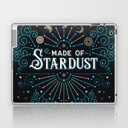 Made of Stardust – Blue & Black Palette Laptop & iPad Skin